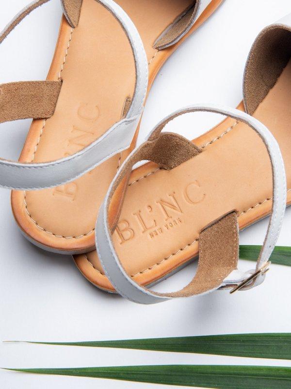 Ankle Strap Sandal_White