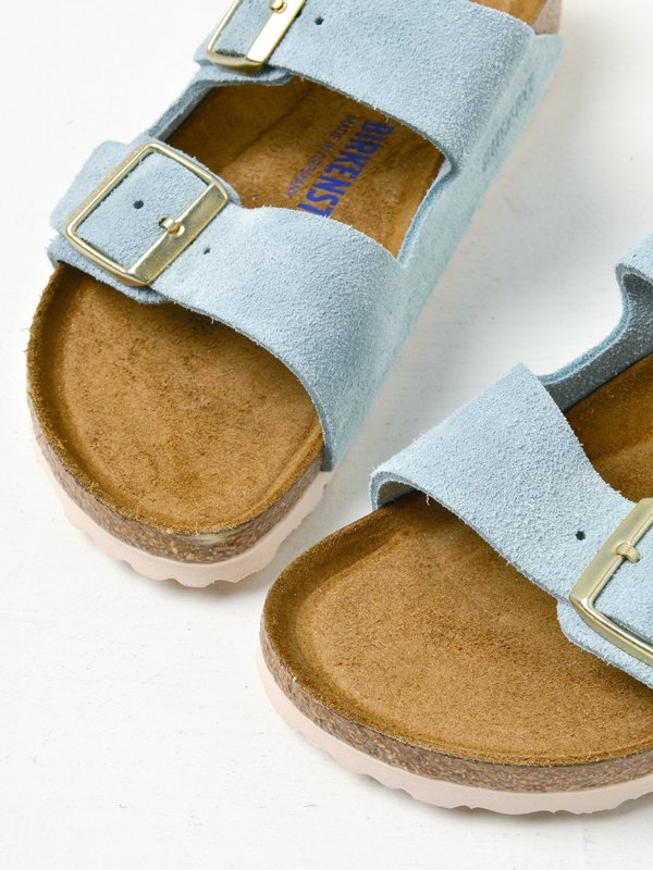 ARIZONA SOFT FOOTBED_SUEDE\LIGHT BLUE