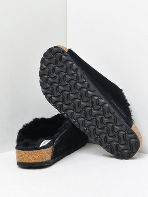 AROSA SHEARLING BLACK/BLACK