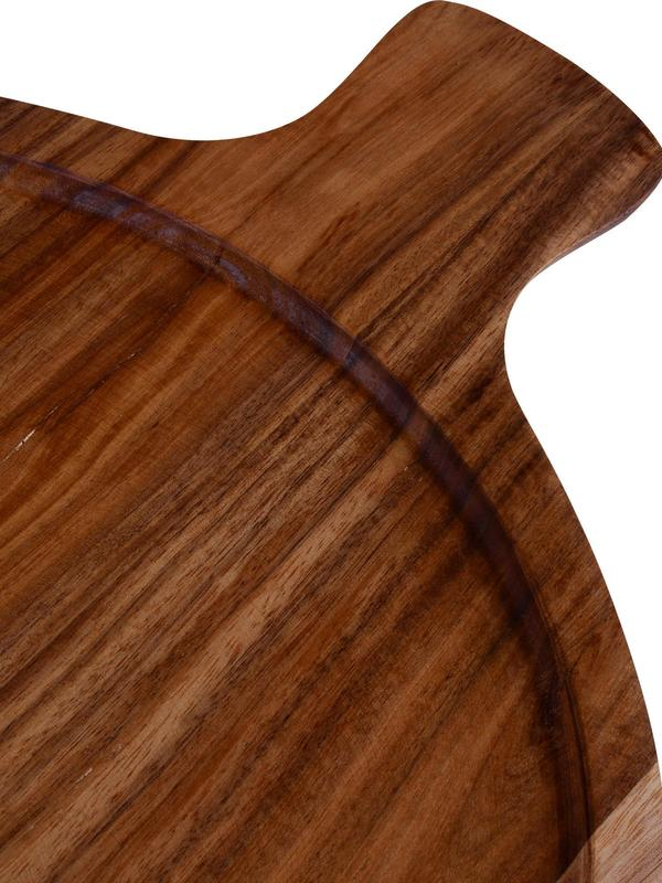 ARTESANO Ori Antipasti P Acacia Wood 11in