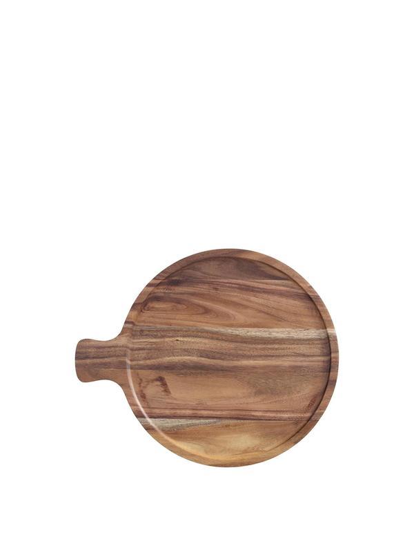 Artesano Original Antipasti Plate Acacia Wood 11in