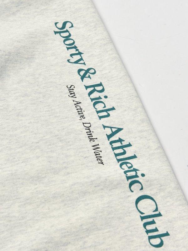 Athletic Club Sweatpants_Heather Gray/Teal
