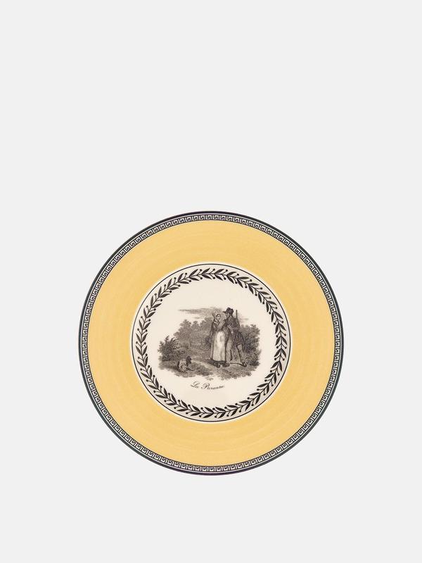 Audun Chasse Appetizer/Dessert Plate 6 1/4 in Set2