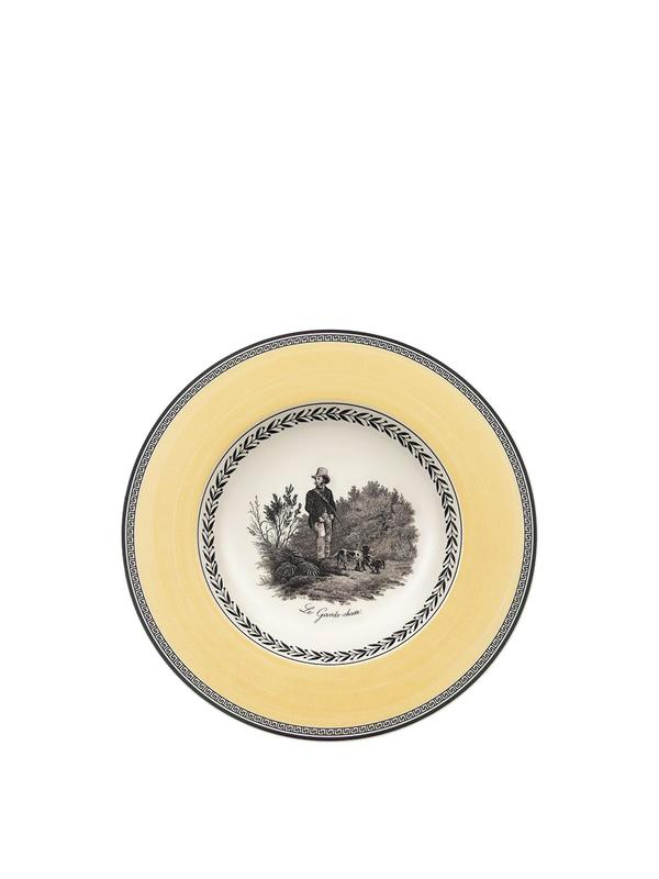 Audun Chasse Soup Bowl 9 1/2in Set Of 2