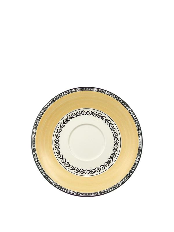 Audun Ferme Breakfast Cup and Saucer 12oz Set Of 2