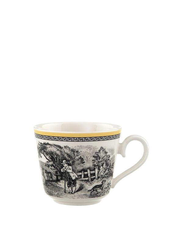 Audun Ferme Tee Cup and Saucer 6 3/4oz Set Of 2