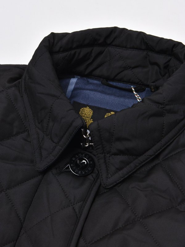 BARBOUR FORTH QUILT_BLACK/BLUE