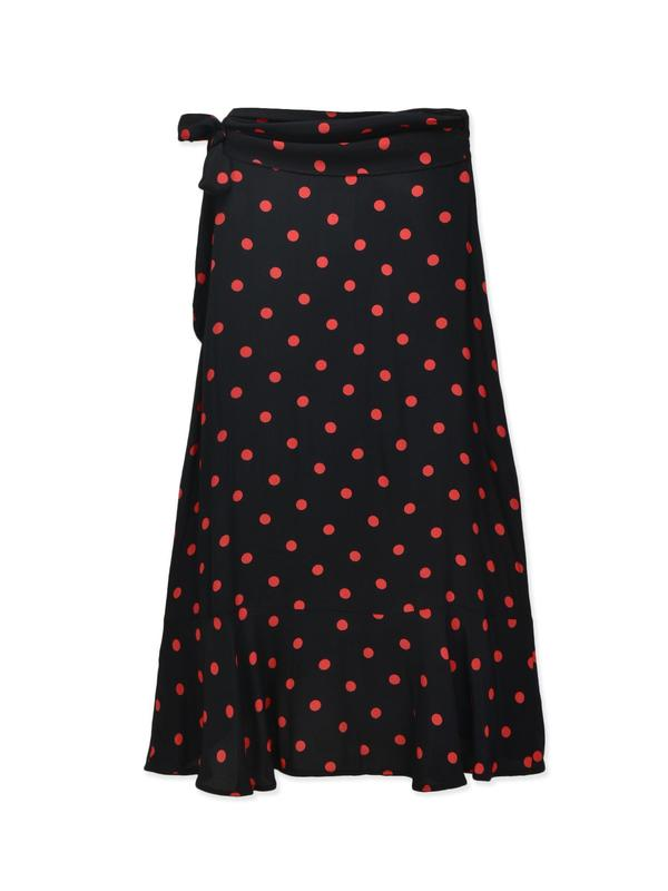Barra Crepe Skirt_Black
