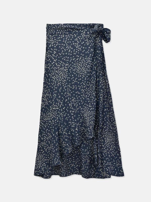 Barra Crepe Skirt_Total Eclipse