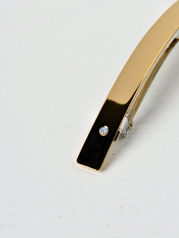 Barrette 021 XL or / gold