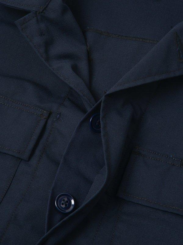 BDU Jacket_Dk.Navy Nyco Ripstop