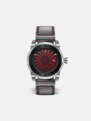 Zinvo Blade Bold Watch - Brushed Silver