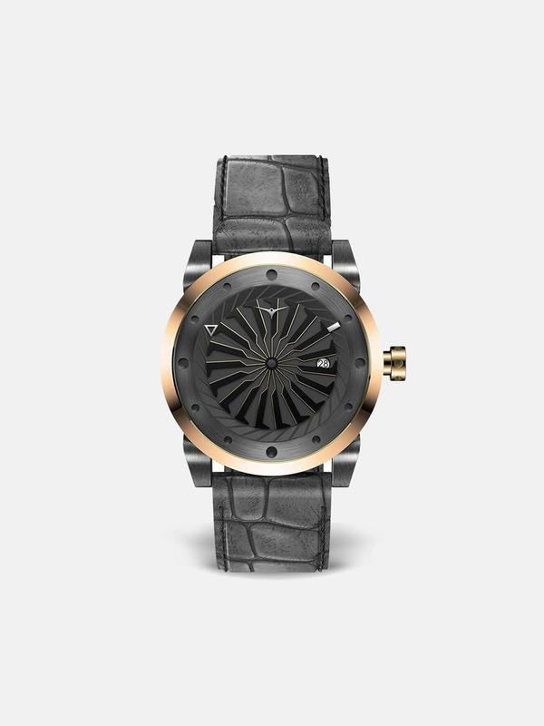 Zinvo Blade Fusion Watch - Rose Gold