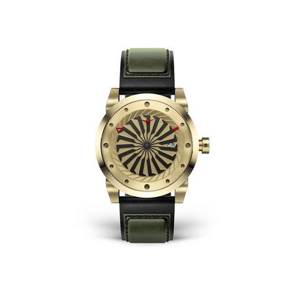 Zinvo Blade Watch - Yellow Gold