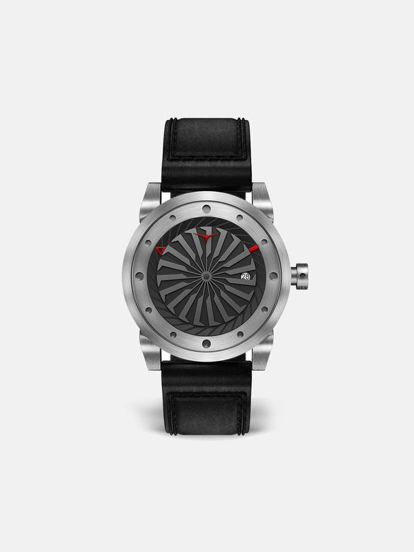 Zinvo Blade Watch - Brushed Silver