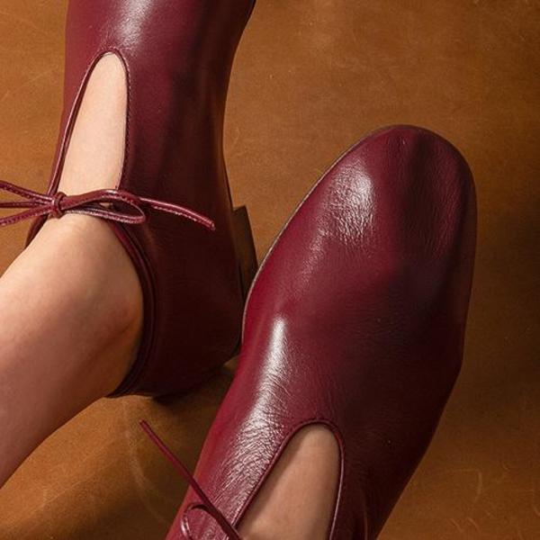 blush. Tulipe Flats - Borgogna