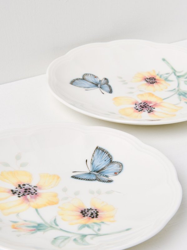 Butterfly Meadow Party Plates Set Of 6