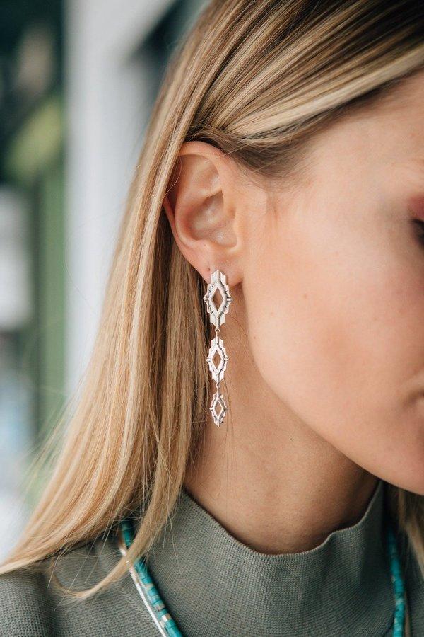 Sierra Winter Jewelry Astra Earrings - Sterling Silver