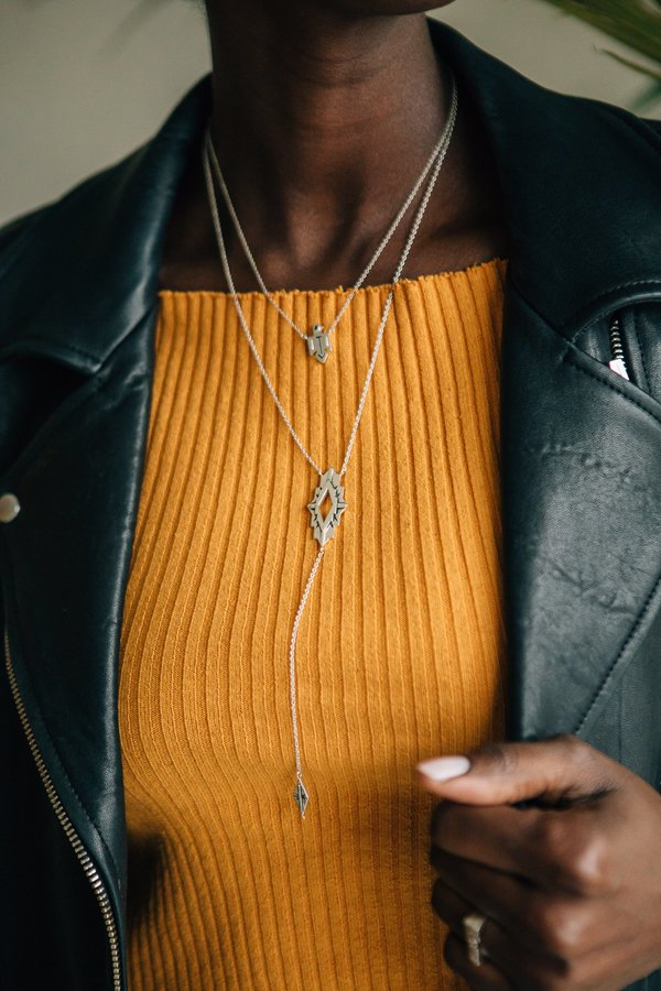 Sierra Winter Jewelry Astra Necklace - Sterling Silver