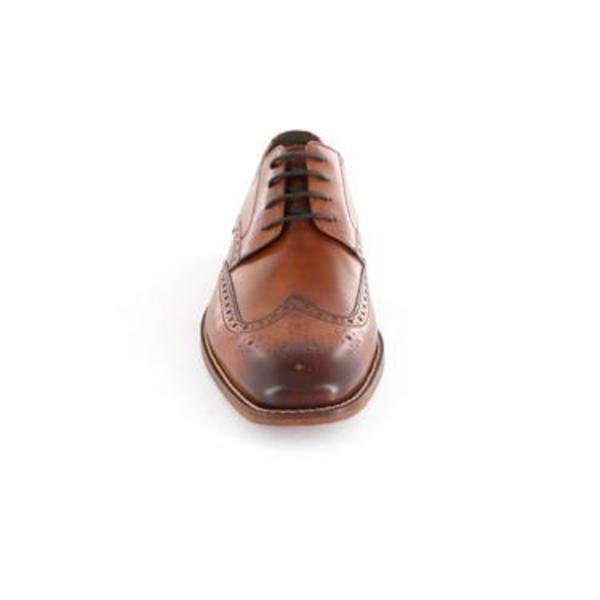 Florsheim Castellano Wing Tip Oxford - Saddle Tan