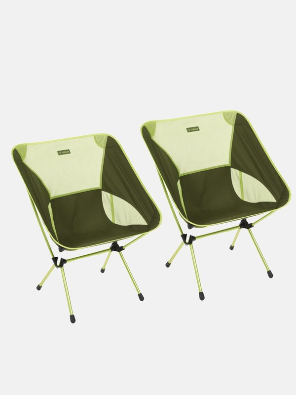 CHAIR ONE XL_Green Block_set of 2