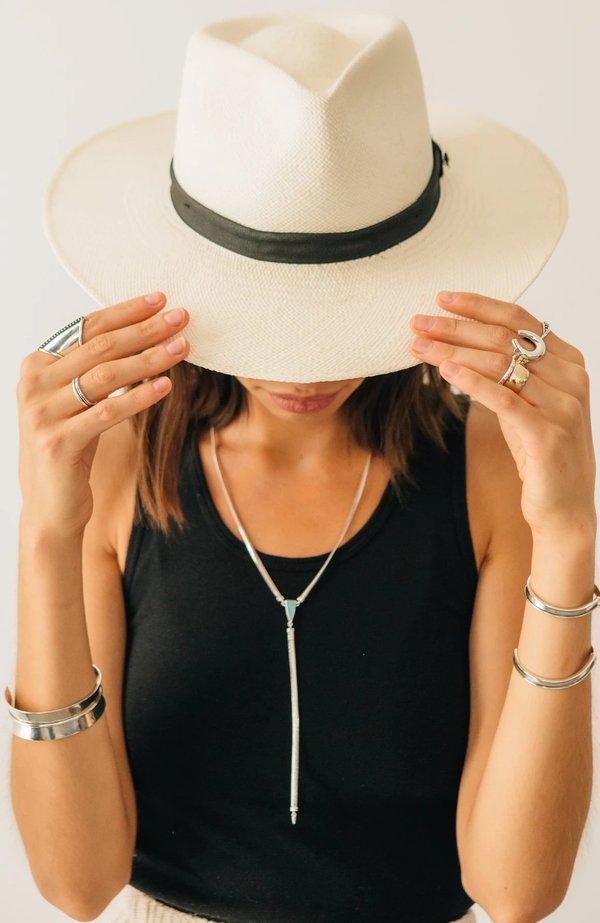 Sierra Winter Jewelry Earlene Lariat Necklace - Sterling Silver/Turquoise