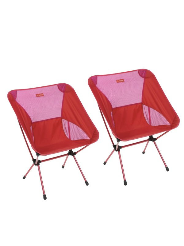 CHAIR ONE XL_Red Block_set of 2