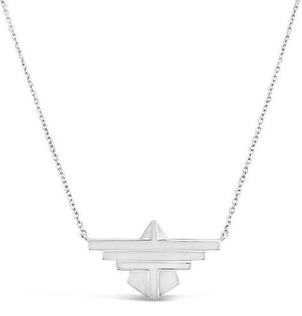 Sierra Winter Jewelry Freebird Necklace - Sterling Silver