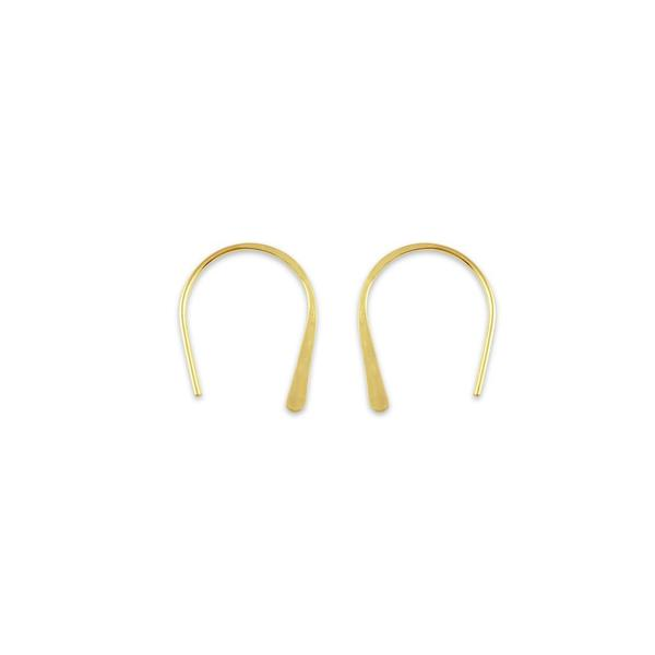 Gold Dust Earrings // 14K Gold - Made To Order