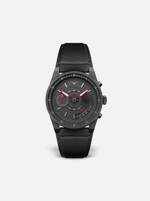 Zinvo Chrono Watch - Gunmetal
