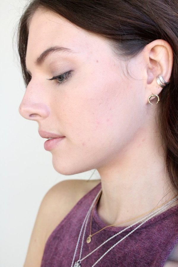 Sierra Winter Jewelry Luna Earrings - 14K Gold
