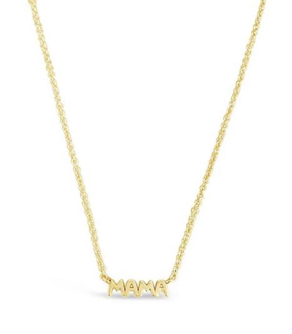 Sierra Winter Jewelry Mama Necklace - 18K Gold Vermeil