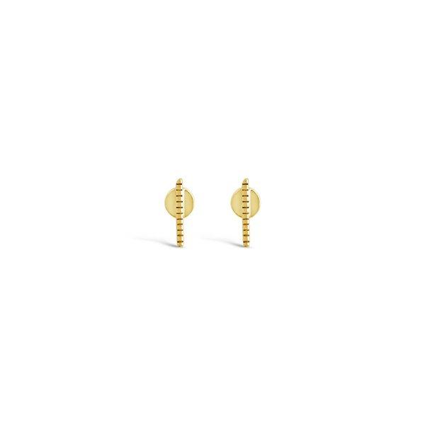 Orbit Earrings // 14K Gold