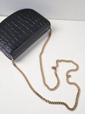 A.P.C. Geneve Clutch On Chain - Black