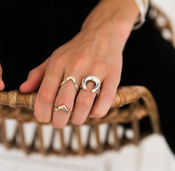 Sierra Winter Jewelry Prairie Ring - 14K Yellow Gold