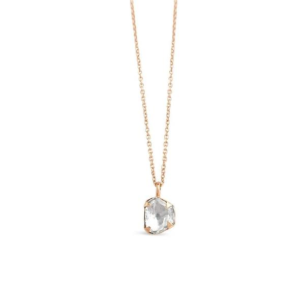 Sierra Winter Jewelry Primrose Diamond Necklace - 14K Rose Gold