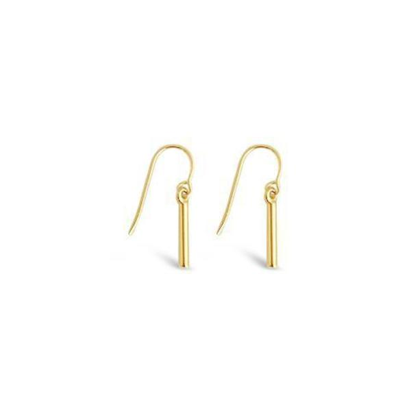 Sierra Winter Jewelry Side Kick Earrings - 14K yellow Gold