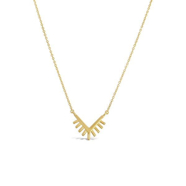 Sierra Winter Jewelry Sunrise Necklace - Gold Vermeil