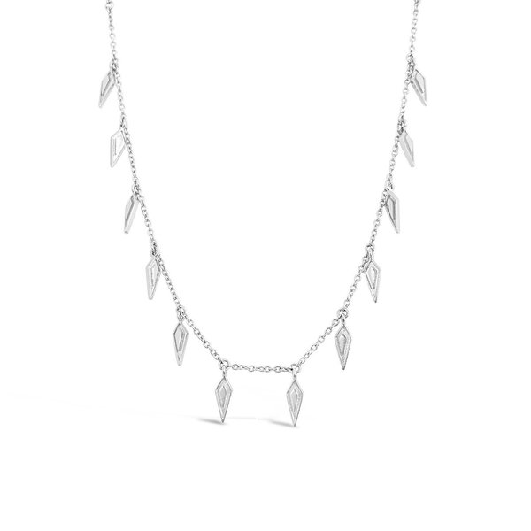 Sierra Winter Jewelry Wildfire Necklace - Sterling Silver