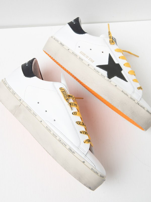 HI STAR LEATHER UPPER AND STAR