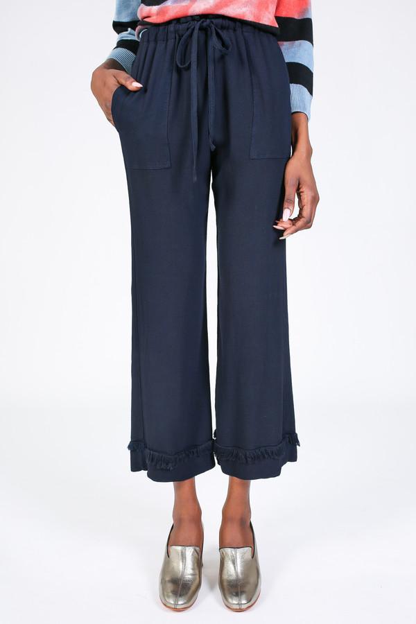 Flared cropped trousers Raquel Allegra XQH0cC6