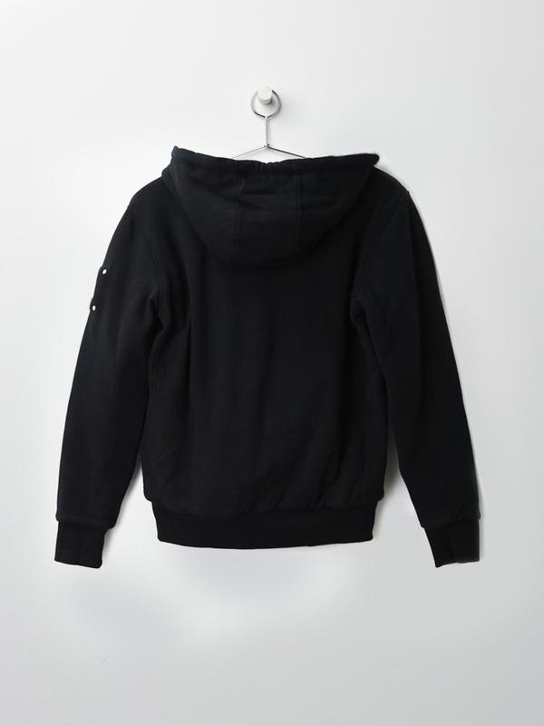 HIS BUNNY SWEATER_204-CHARCOAL W/ WHITE