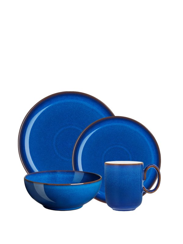 Imperial Blue 4pc Coupe Set