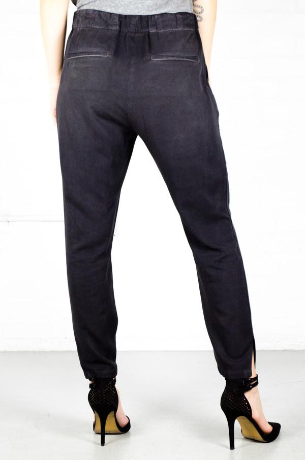 Amo Washed Black Twist Pull On Pants Garmentory