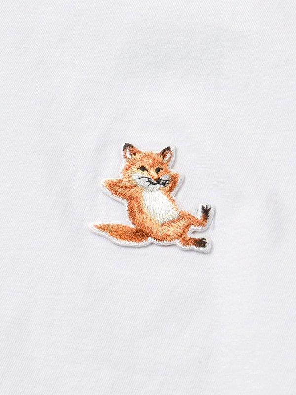 MEN_CHILLAX FOX PATCH CLASSIC TEE-SHIRT_WHITE
