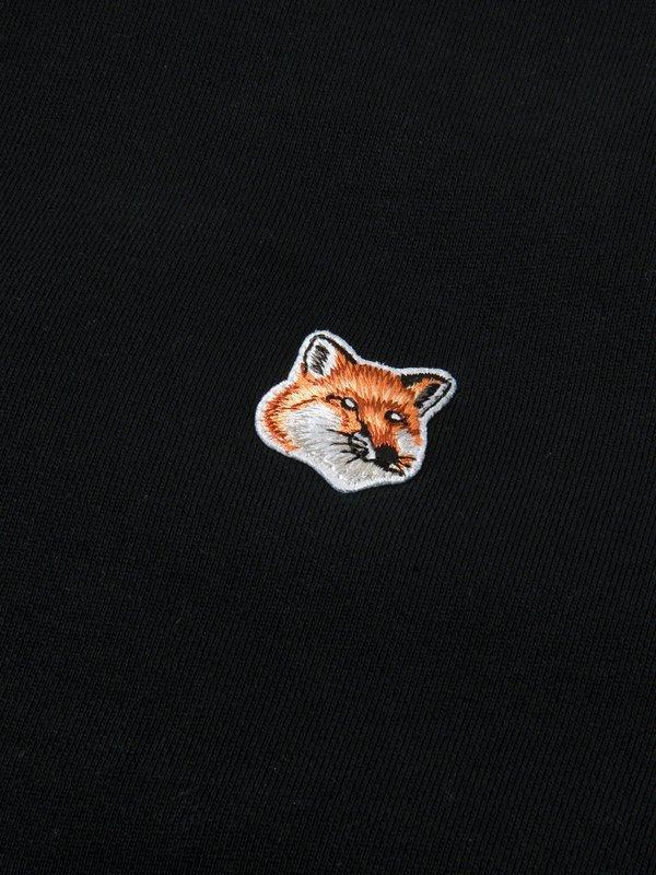 MEN_FOX HEAD PATCH CLASSIC SWEATSHIRT_BLACK