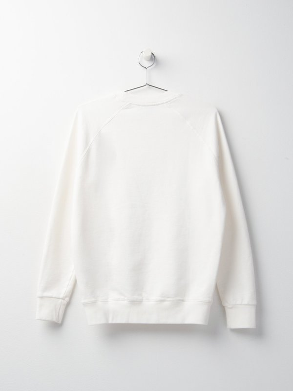 MEN_FOX HEAD PATCH CLASSIC SWEATSHIRT_ECRU