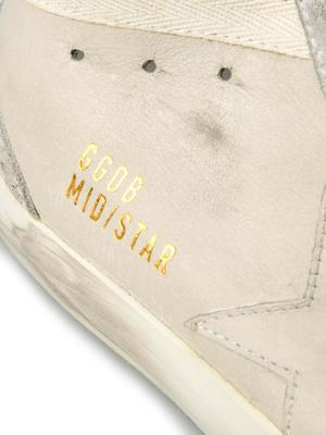 MID STAR_WHITE LEATHER