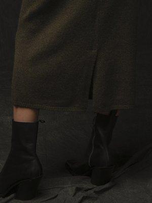 Midi Skirt_Hunter Heather