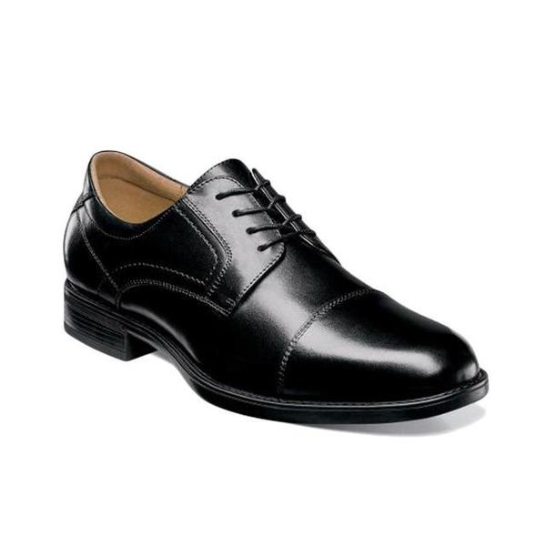 Florsheim MIDTOWN CAP TOE OXFORD - black